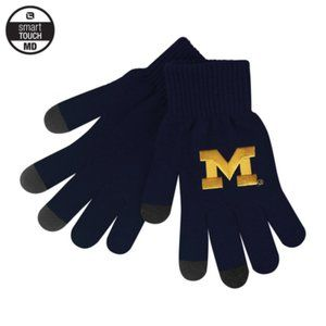 University of Michigan iText Smart Touch Knit Glov